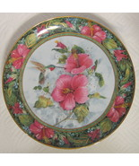 The Imperial Hummingbird Plate #JC1231 Theresa ... - $39.59