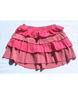 Old Navy GirlsTiered Ruffled Pink Knit Skirt w/... - $9.89