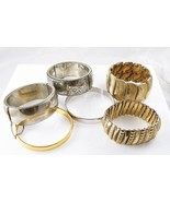 Lot 4: Lot of Vintage Bangles Some Marked Monet... - $84.15