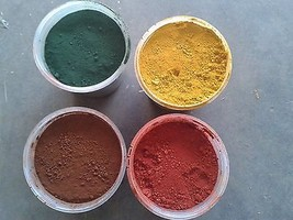 Concrete Color Iron Oxide Pigment Powder Dye Co... - $11.99