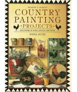Country Painting Projects Emma Hunk Reader's Di... - $2.98