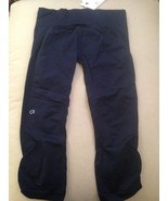 NWT Gap fit Navy Yoga Running Crop Medium Retai... - $30.00