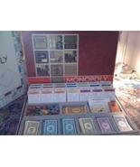MONOPOLY Game RED BOX Original Pieces Styrofoam... - $40.00