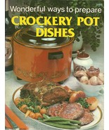 Crockery Pot Dishes Jo Ann Shirley Softcover Co... - $1.98