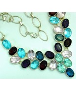 Treasure Chest of Oval Gemstones Amethyst Quart... - $367.68