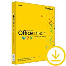 Microsoft Office Mac Home and Student 2011| Ele... - $108.67