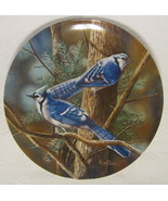 The Blue Jay Collector Plate Knowles #763G 1985 - $44.54