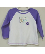 Girls Carters Lilac White Long Sleeve Top Size ... - $4.00