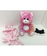 Smallfrys Build A Bear Pink Tie Dyed With Robe ... - $27.71