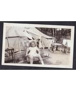 Vintage Antique Photograph Adorable Little Girl... - $8.91