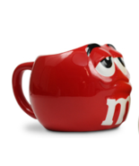 M&Ms World Big Face Red Character Large Ceramic... - $11.00
