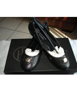 Hayden Harnett Laurel Flats Black SZ 6 EUC $210 - $35.99
