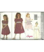 Butterick Sewing Pattern 3773 Girls Party Dress... - $10.98