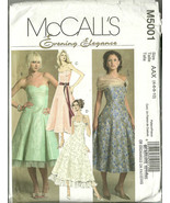 McCall's Sewing Pattern 5001 Misses Womens Dres... - $19.99