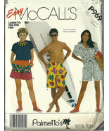 McCall's Sewing Pattern 969 Misses Unisex Mens ... - $9.98