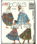 McCall's Sewing Pattern 6284 Misses Womens Tier... - $14.98