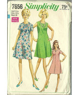 Simplicity Sewing Pattern 7656 Misses Womens Dr... - $19.99