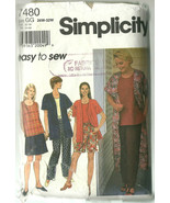 Simplicity Sewing Pattern 7480 Misses Womens Ja... - $10.98