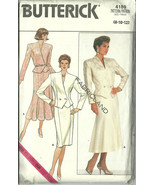 Butterick Sewing Pattern 4189 Misses Womens Sui... - $12.98
