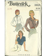 Butterick Sewing Pattern 3815 Misses Womens Blo... - $9.98