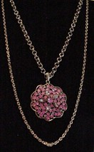 Vintage Lisner Huge 2 strand Pendant Necklace A... - $135.00
