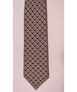 BROOKS BROTHERS Black/Gray/Beige Chain Link Pri... - $28.71