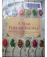 A YEAR FULL OF RECIPES COOKBOOK FROM PARRAGON B... - $10.00