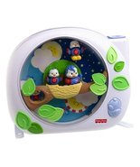 FISHER PRICE FLUTTERBYE DREAMS MUSIC CRIB SOOTH... - $38.95