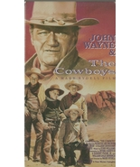 The Cowboys VHS John Wayne Bruce Dern Roscoe Le... - $1.99
