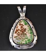 Navajo Sterling Silver Rare Natural GRASSHOPPER... - $2,830.41