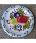 HERITAGE MINT BLACK FOREST FRUITS DINNER PLATE - $12.99