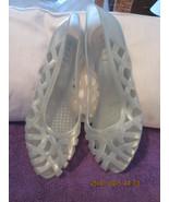 Women's Authentic Vintage 1980s Jelly Shoes Siz... - $26.99