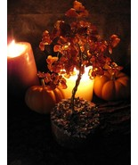 Autumn Tree Spirit Offering & Yggdrasil Wishing... - $109.99