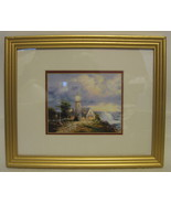 Thomas Kinkade A Light In The Storm Framed Print - $64.34