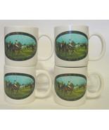 Ralph Lauren Ceramic Polo Mugs Set of 4 - $49.49
