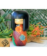 Kokeshi_doll_japanese_wood_hand_painted_flower_kimono_signed_thumbtall
