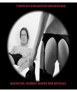 7 DAYS OF UNLIMITED SEX RITUALS NAUGHTY KINKY R... - $56.00