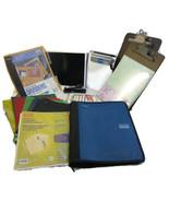 30+ Pc Lot School Supplies Folders Binders Clip... - $22.00