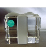 Tiffany & Co Crystal Frosted Gift Box Paperweight  - $20.00