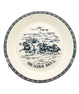 Vintage Currier and Ives ceramic pie baker The ... - $15.00