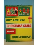 1954 National Tuberculosis Association Christma... - $32.45