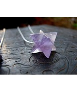 Merkaba of Metatron Haunted Amulet Amethyst Mer... - $77.77