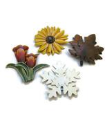 4 Garden Stake Planter Flower Box Decorations T... - $12.00