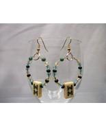 MahJong Hoop Earrings  - $12.00