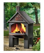 Outdoor Fireplace Chimney Chiminea Fire Pit Pat... - $180.16