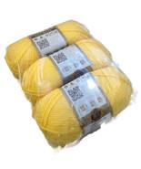 Vanna's Choice Lion Brand Duckie Yellow Baby Ya... - $21.00