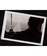 Antique Photograph Pilots Silhouette From Behin... - $8.91