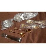 Tea Accessories Sugar Spoons Tea Bag Squeezer T... - $19.79