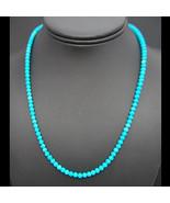 Navajo Gem Grade 5mm Sleeping Beauty Turquoise ... - $890.01