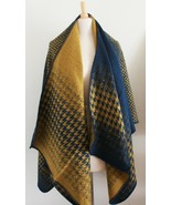 Reversible Ruana Fall WInter, Shawl, CAPE in Be... - $43.99